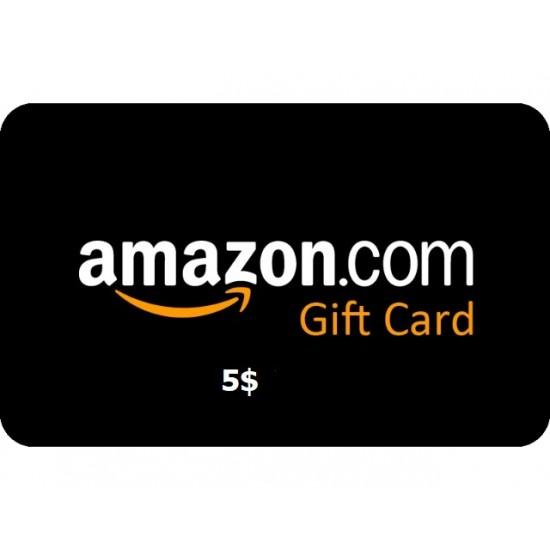 Amazon Gift Card 5USD