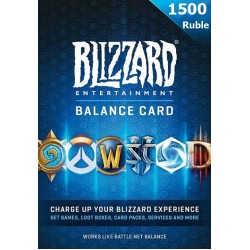 Battle.Net Card 1500 Ruble