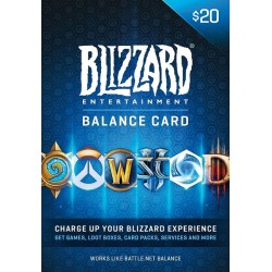 Battle.Net Card 20 USD