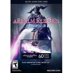 Final Fantasy XIV: A Realm Reborn 60 Days Time Card EU
