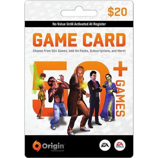 Origin Game Card 20$