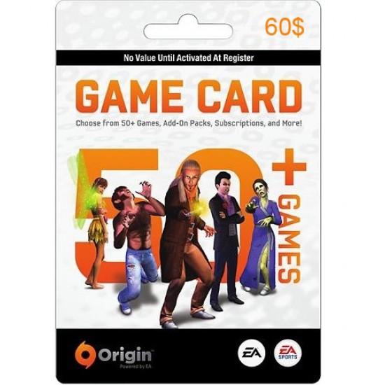 Origin Game Card 60$