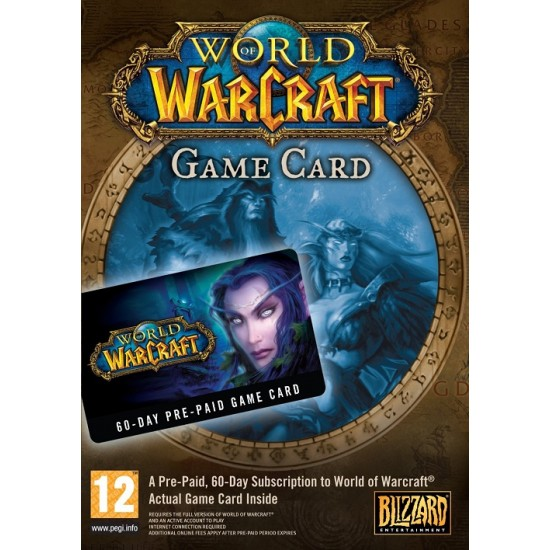 WOW 60 Day Game Card EU