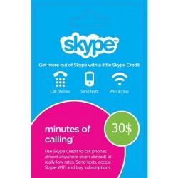 Skype Voucher 30$ USD
