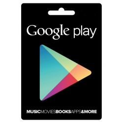 Google Play Gift Card 15$