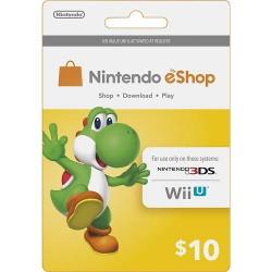 Nintendo EShop Card 10$