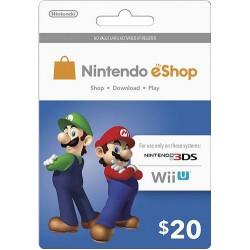 Nintendo EShop Card 20$