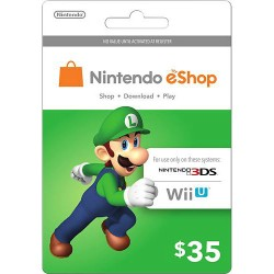Nintendo EShop Card 35$
