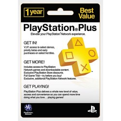 PSN Plus 12 Month US