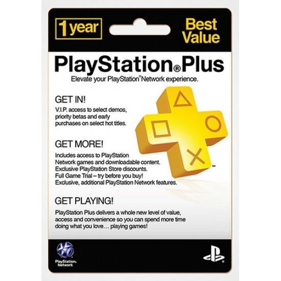 PSN Plus 12 Month US
