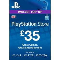 PSN Card 35£ UK