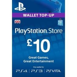 PSN Card 10£ UK