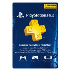 PSN Plus 3 Month US