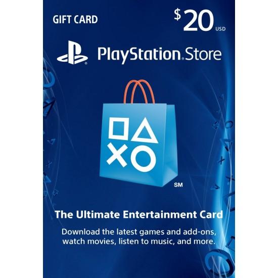 PSN Card 20$ US