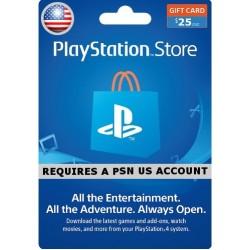 PSN Card 25$ US