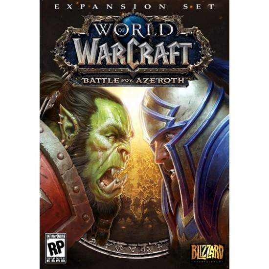 World of Warcraft Battle for Azeroth EU CD Key
