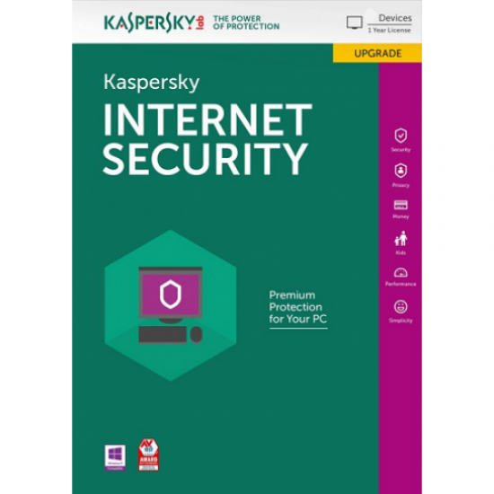 Kaspersky Internet Security 2020 1 PC 1 Year