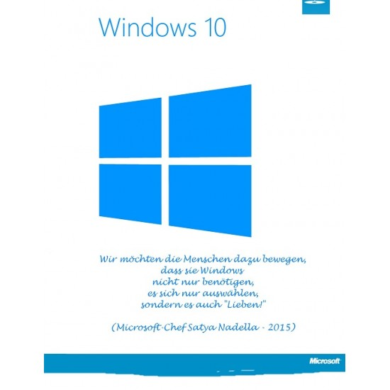 Windows 10 Professional 32/64 Bit CD Key
