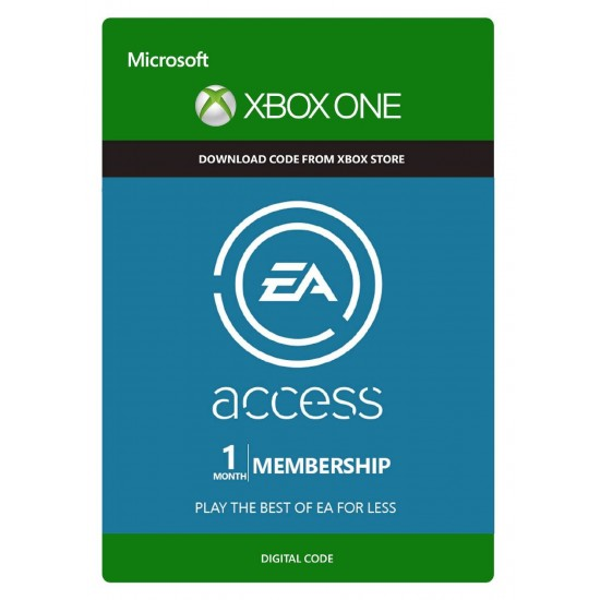 EA Access 1 Month Xbox One