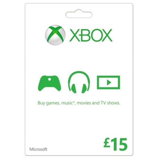 Xbox Live 15€ EU