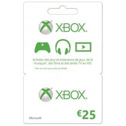 Xbox Live 25€ EU