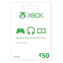 Xbox Live 50€ EU