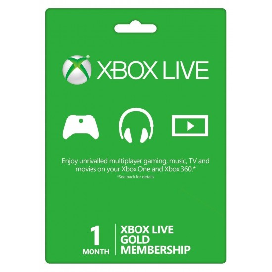 Xbox Live 1 Month