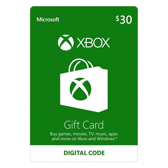 Xbox Live 30$ USA