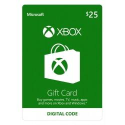Xbox Live 25$ USA