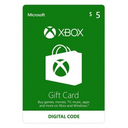Xbox Live 5$ USA