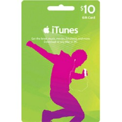 iTunes Gift Card 10$ US