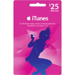 iTunes Gift Card 25$ US