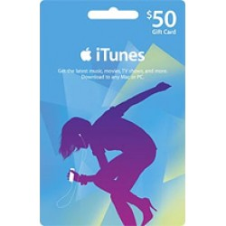 iTunes Gift Card 50$ US