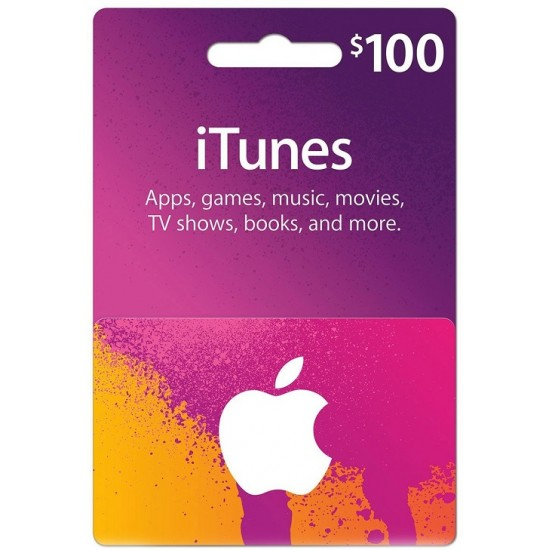 iTunes Gift Card 100$ US
